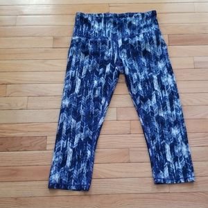 EUC high waist Gap Fit 3/4 length pants